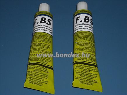 FBS szilikon ragasztó és tömítő 70 ml tubusos