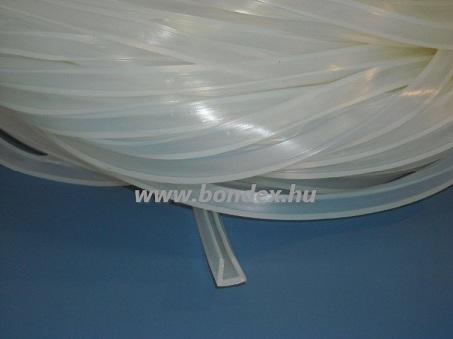 Szilikon élvédő 6 mm-es lemezélhez