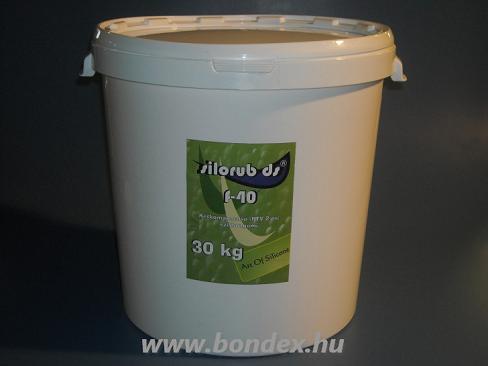 Önthetõ szilikon Silorub ds F-40 RTV 2  ( 30 kg )