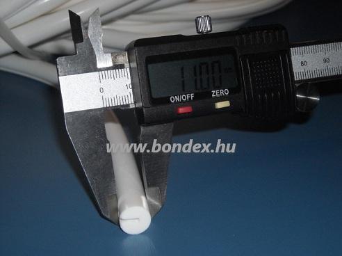 Szilikon 2 mm-es kör alakú élvédő