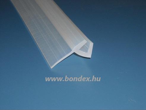 U alakú zuhanykabin élvédő (6 x 24 mm)
