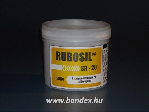 Rubosil SR-20 önthető szilikon 500gr