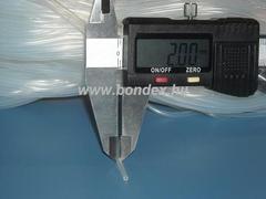 Egészségügyi minőségű szilikon cső 0,5x2 mm