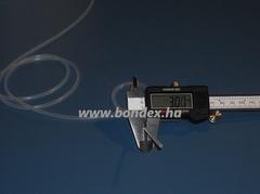 Egészségügyi minőségű szilikon cső 1x3 mm