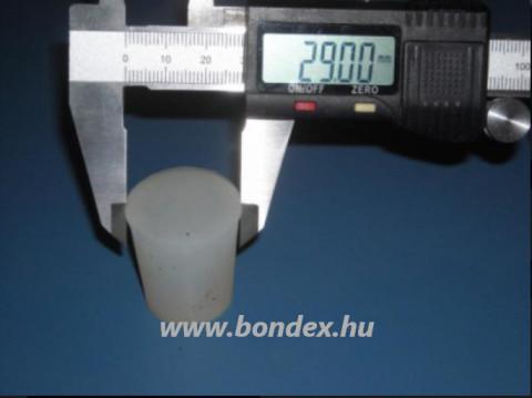 Szilikon dugó d 24x29 mm