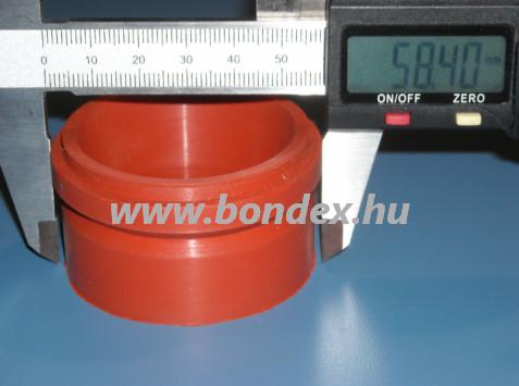 Hőálló szilikon tömítés automata kávéfőzőhöz