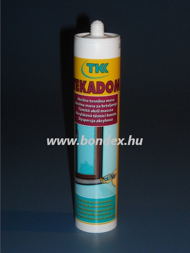 Festhető akril tömítő paszta Tekadom Tkk 300ml