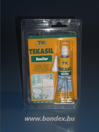 Ecetsav bázisú szaniter szilikon tömitő Tkk 60 ml bliszteres