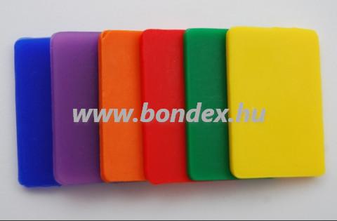 Kétkomponensű önthető szilikon színező festék /Rubosil Color kék/