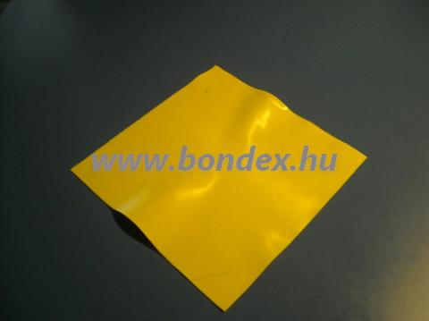 Sárga szilikon lap 315x315 mm