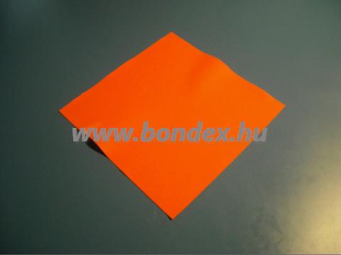 Narancssárga szilikon lap 315x315 mm