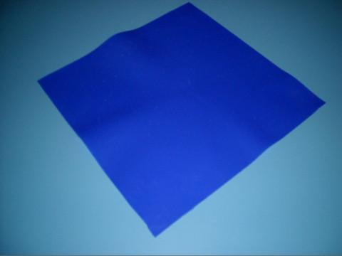 Sötétkék szilikon lap 315x315 mm