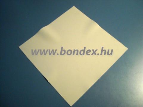 Fehér szilikon lap 315x315 mm