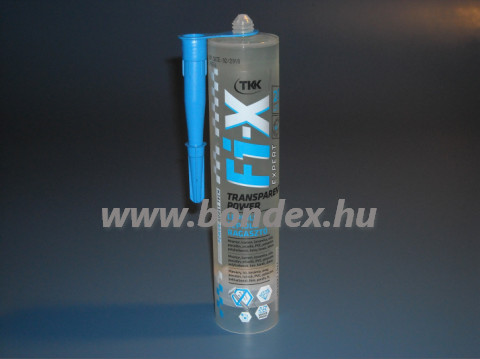 Szerelő ragasztó TKK Fix expert kartusos 290 ml