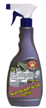 Műanyag kertibútor tisztító / savmentes / 500 ml