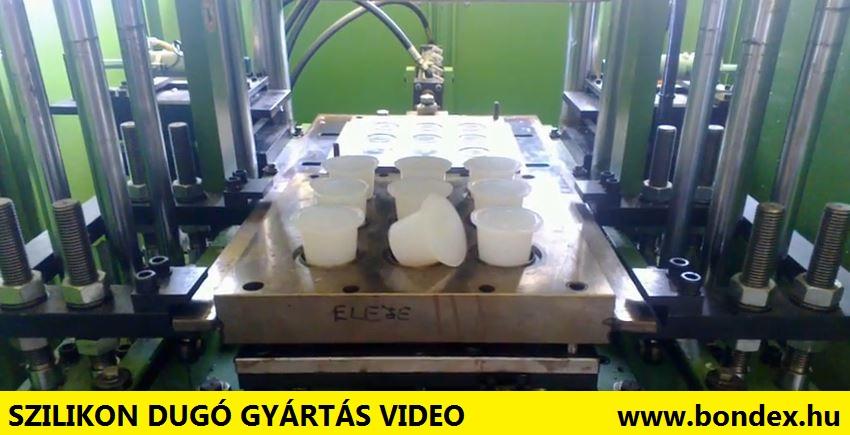 Szilikon dugó gyártás videó