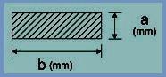 20x8 mm szilikon szalag (téglalap alakú)